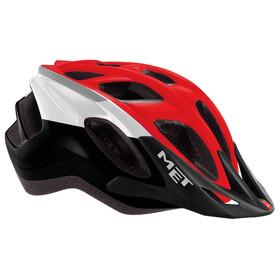 MET Funandgo Pyöräilykypärä , punainen/musta